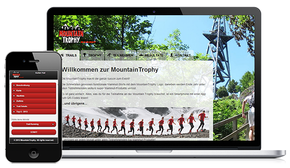 Mountaintrophy Webseite